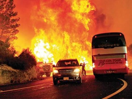 الذكرى السنوية العاشرة لكارثة حريق الكرمل