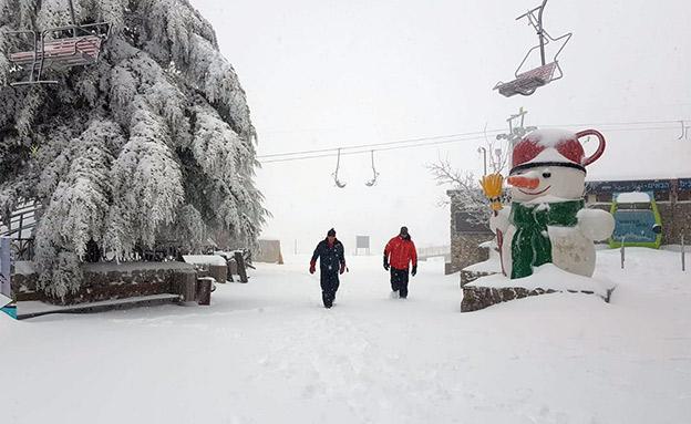هل ستتساقط الثلوج خلال هذا الموسم على فلسطين ؟