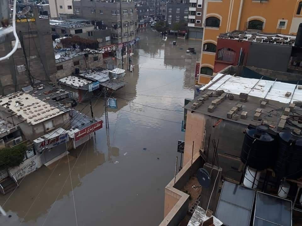 بيت لاهياً الأعلى مطراً على مستوى فلسطين