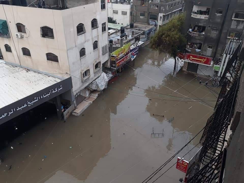 الأمطار تعود من جديد للأراضي الفلسطينية