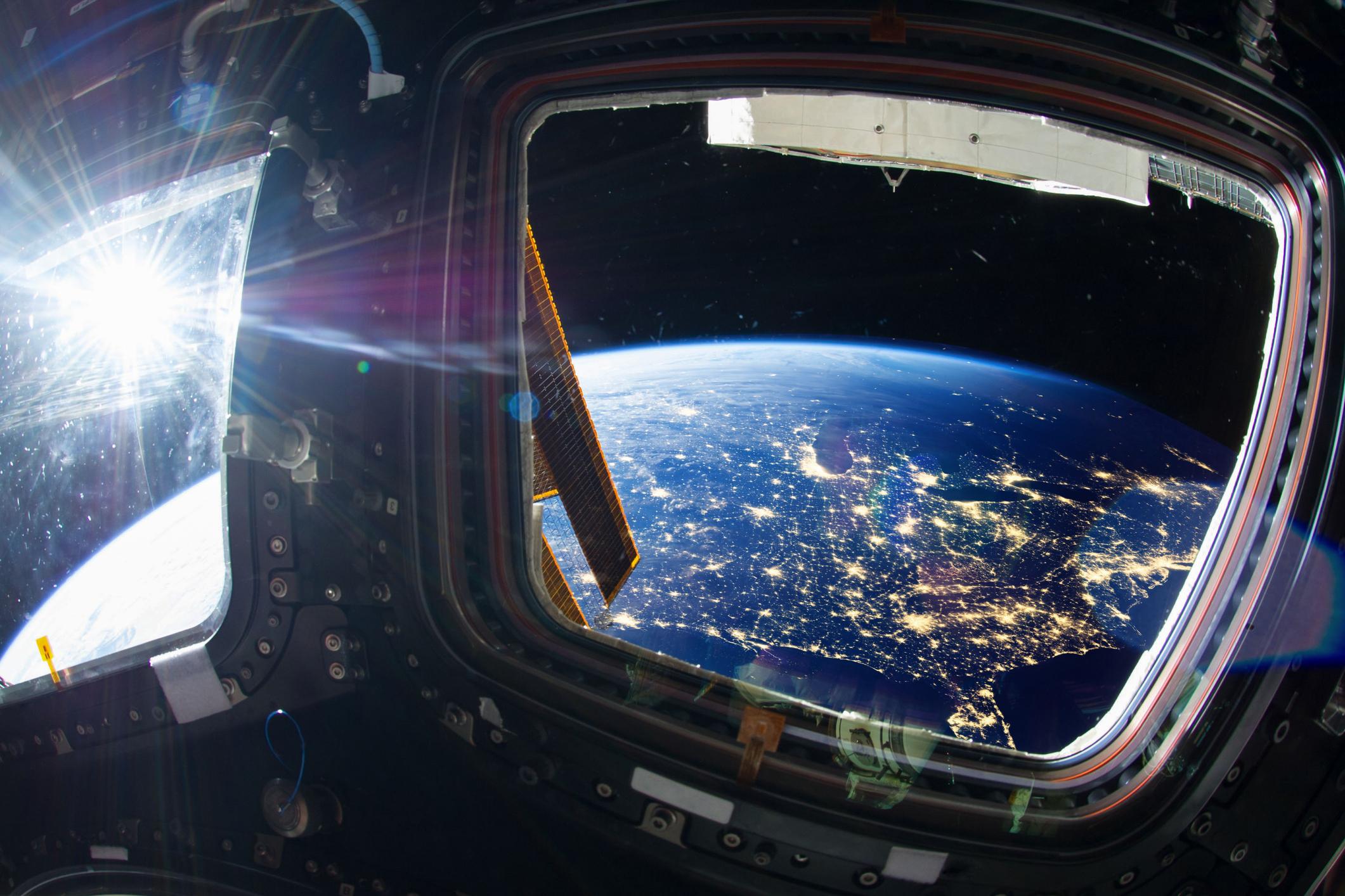 تصوير مسلسل فضائي على متن محطة الفضاء الدولية