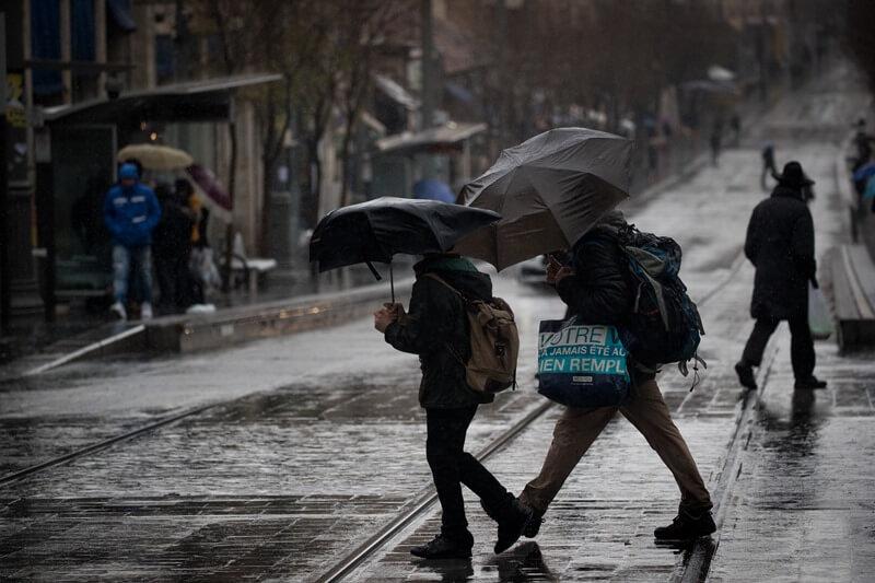 كم بلغت نسبة الأمطار على فلسطين حتى الآن ؟