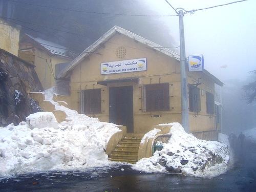 عواصف ثلجية في الجزائر وسط تدخل الجيش