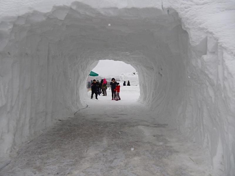 في واحدة من أعنف العواصف الثلجية