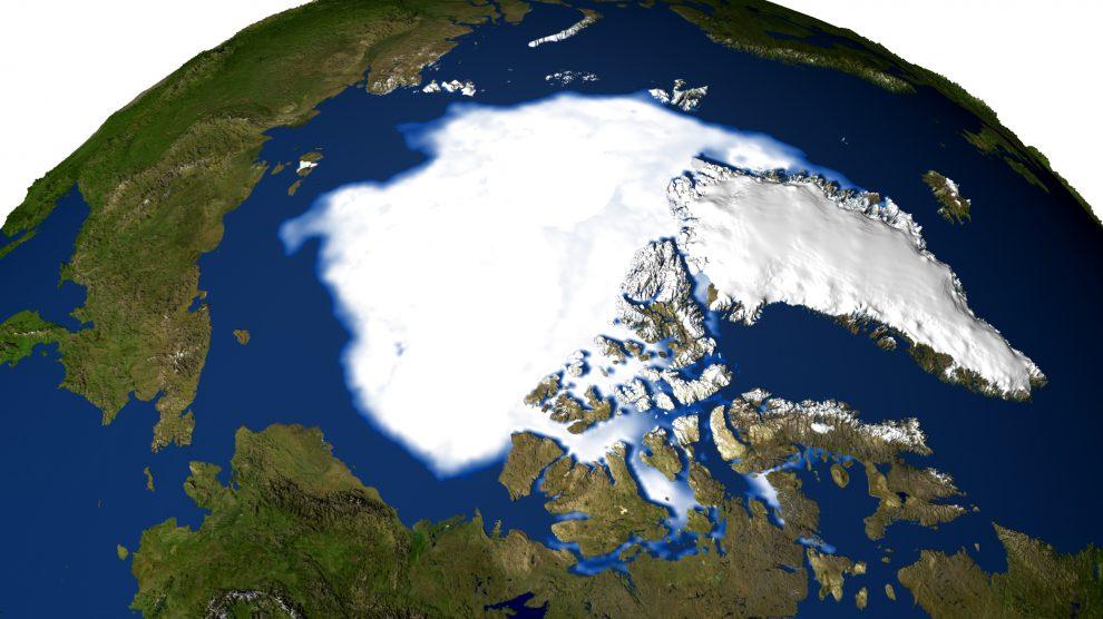 تطورات في القطب الشمالي قد تؤدي الى موجات صقيع واسعة
