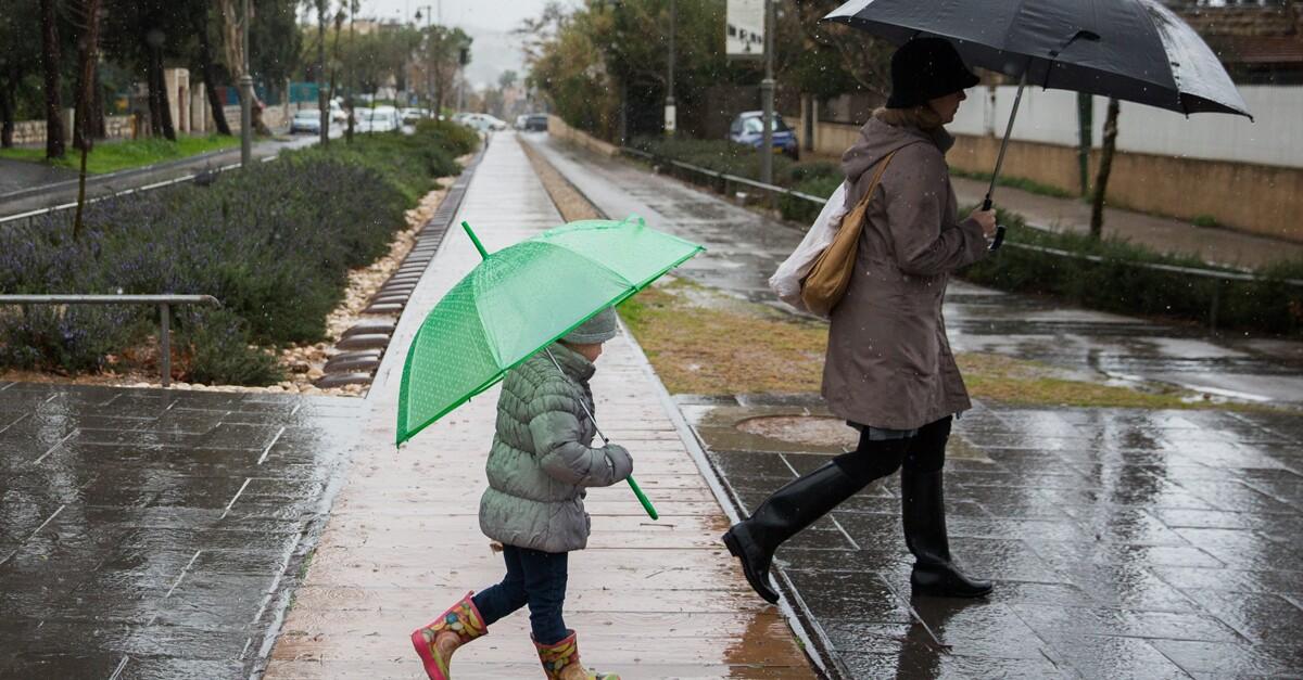 ساعات تفصلنا عن  عودة أمطار الخير