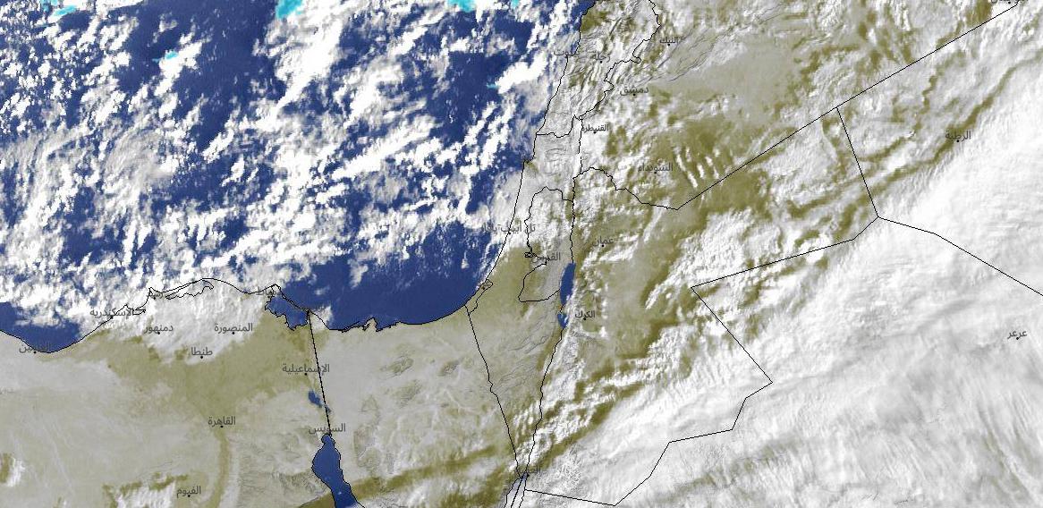 أمطار وعواصف رعدية تؤثر على فلسطين