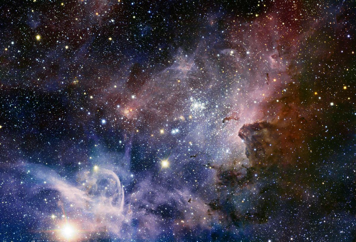 إكتشاف 700 مليون جسم فلكي جديد  في الفضاء