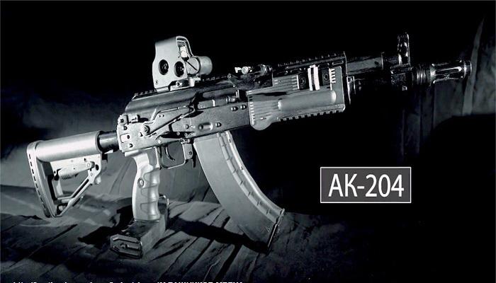 بالفيديو : كلاشنكوف تكشف عن نموذج بندقيتها AK204