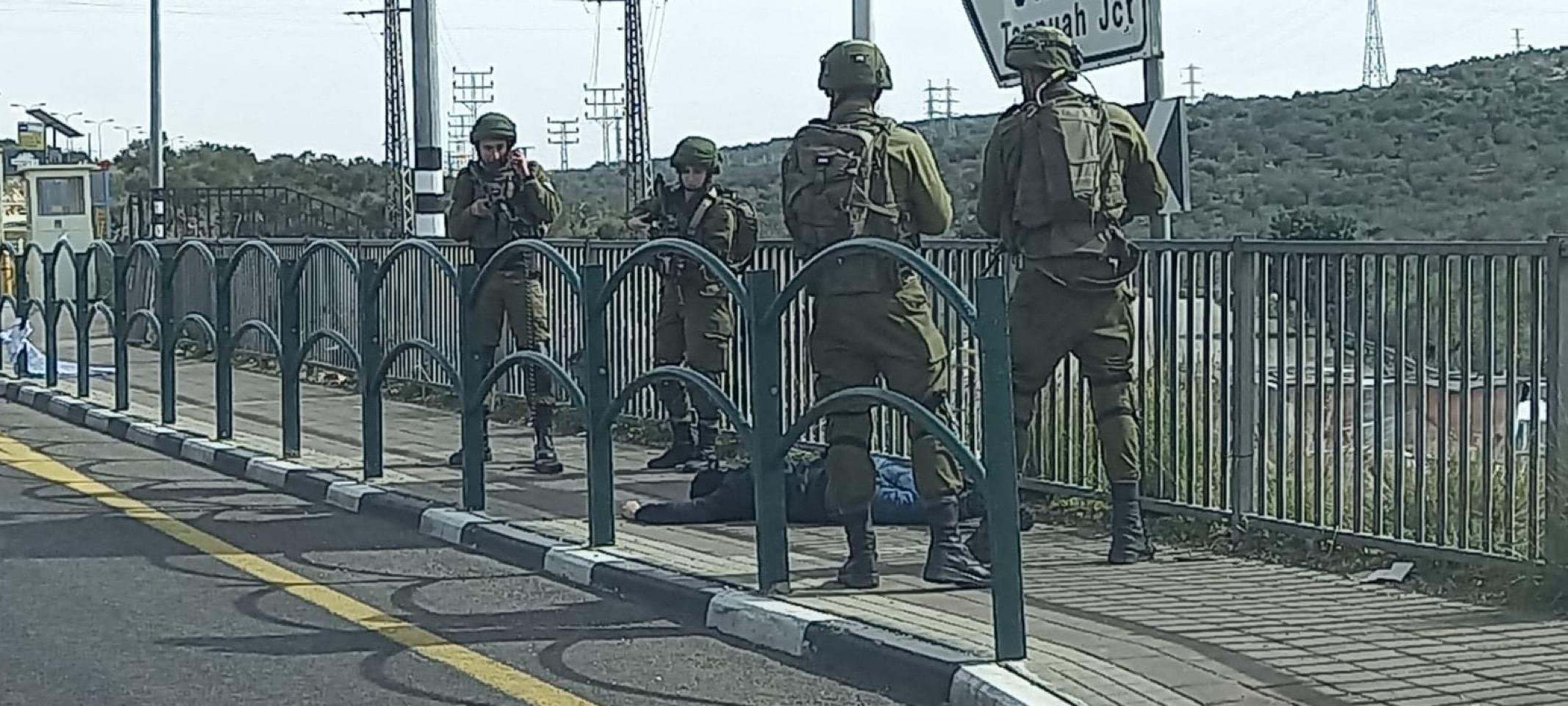 قناة عبرية : استشهاد فلسطيني قرب سلفيت برصاص الجيش في عملية طعن