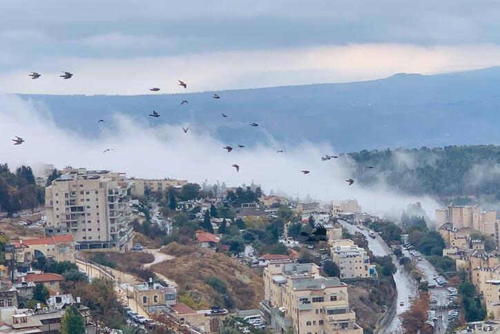 سلسلة من المنخفضات العميقة تزور فلسطين