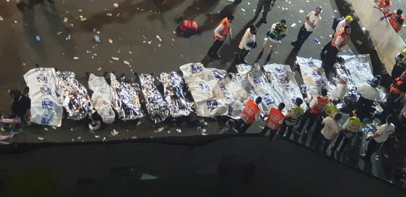 مقتل 44 واصابة المئات في احتفالية على جبل الجرمق