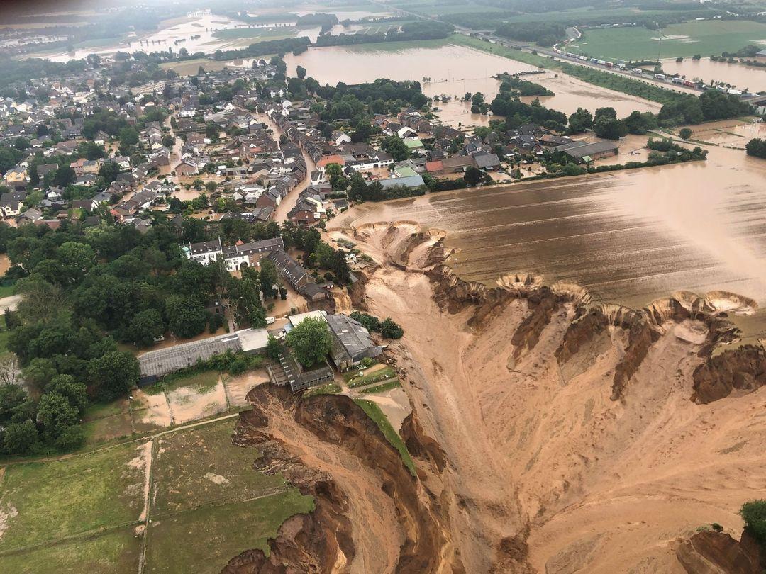 تعرف على اسباب ارتفاع حصيلة الفيضانات في اوروبا